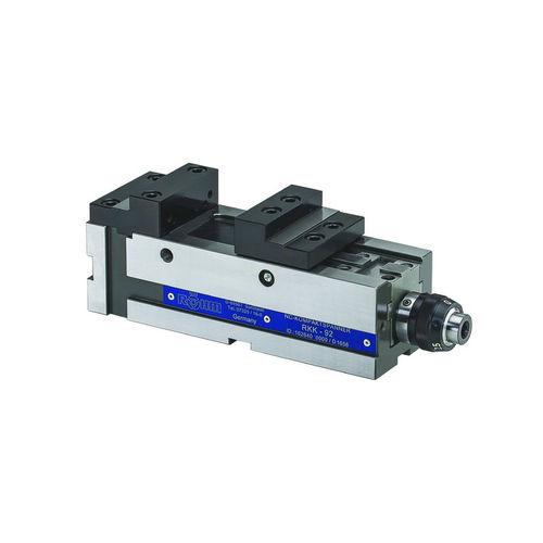 étau pour machine-outil / hydraulique / horizontal / en acier