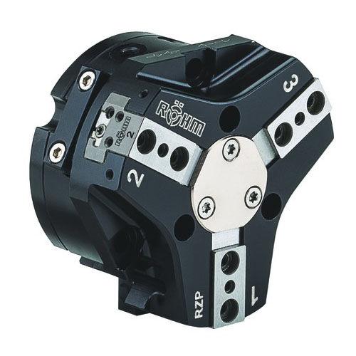 pince de préhension pneumatique / angulaire / à 3 mâchoires / pour robots industriels