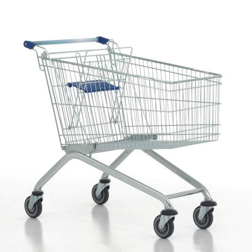 chariot de supermarché / en acier galvanisé / polyvalent