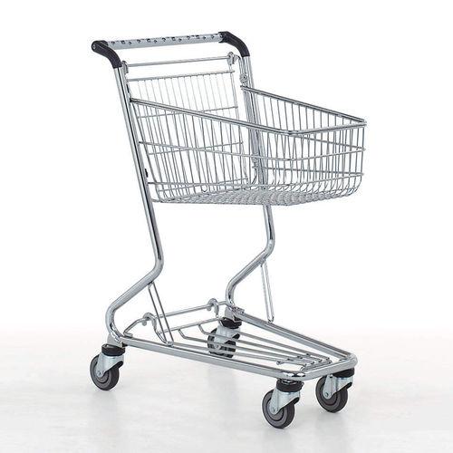 chariot de supermarché / en métal / polyvalent / compact