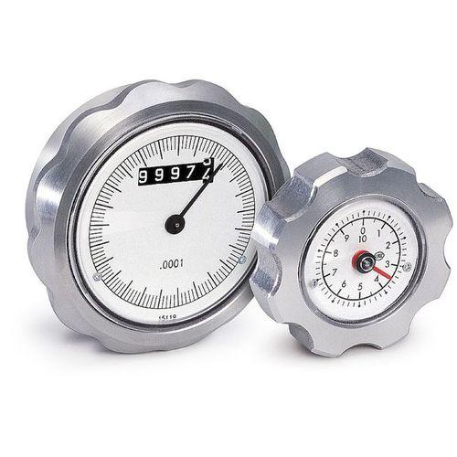 volant de manoeuvre / avec indicateur / en aluminium
