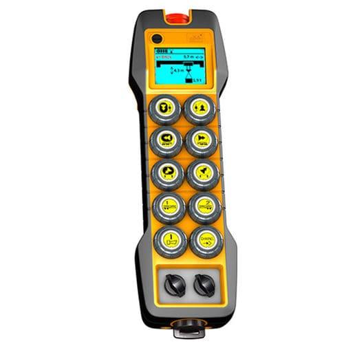 télécommande radio / à boutons configurables / IP65 / avec écran intégré