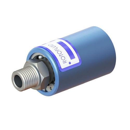 raccord tournant pour le vide / hydraulique / pneumatique / en aluminium
