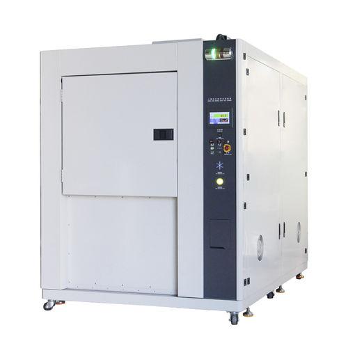 chambre d'essai de choc thermique / climatique / en inox / verticale
