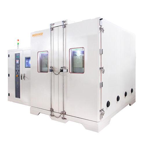 chambre de test climatique / de température / avec régulation climatique et de température / en inox