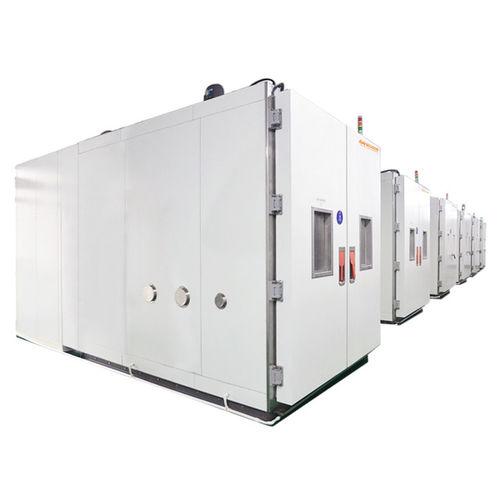 chambre d'essai d'humidité et température / walk-in / modulaire / à basse température