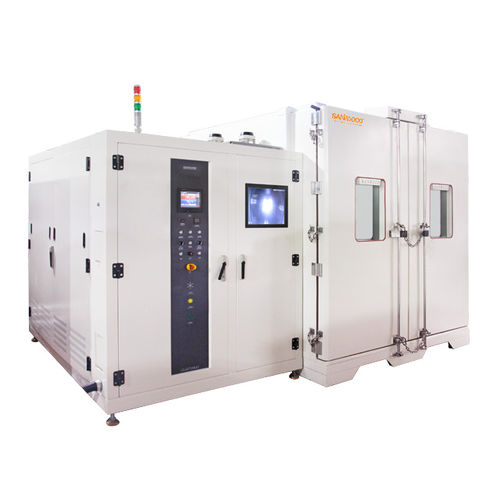chambre d'essai de température / walk-in / à basse température / à haute température