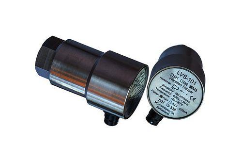 capteur de vibrations passif / électrodynamique / pour machine tournante / robuste