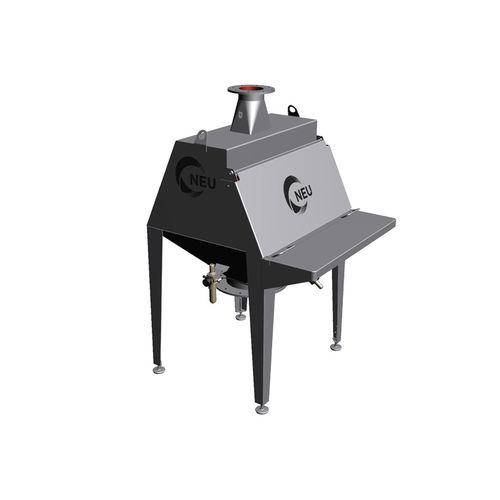 dispositif de décharge de sac en vrac / pour l'industrie agroalimentaire / pour applications hygiéniques / automatique