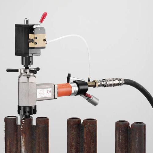 chanfreineuse électrique / pneumatique / portable / pour tuyaux