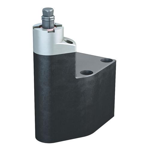 bride de serrage à excentrique / actionnée hydrauliquement / compacte / à joue