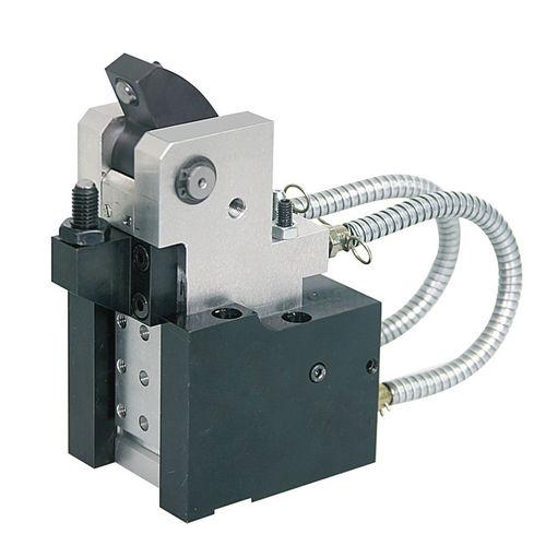 élément de serrage flottant / hydraulique / double effet / pour usinage