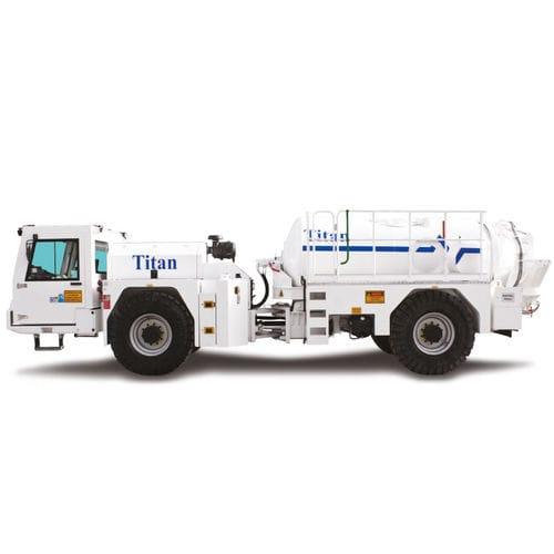 camion malaxeur pour mine souterraine / diesel