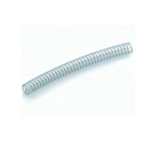 tuyau flexible pour produits alimentaires / en PVC / résistant aux produits chimiques / résistant à l'abrasion