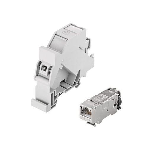 connecteur de données / DIN / RJ45 / Ethernet