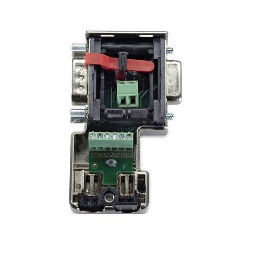 connecteur de données / D-Sub / parallèle / verrouillable par vis