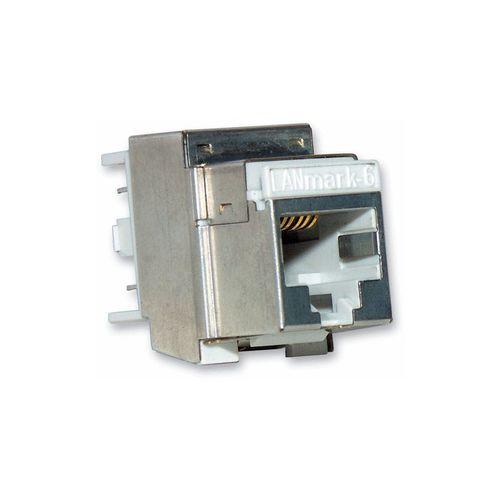connecteur RF / Ethernet / carré / prise