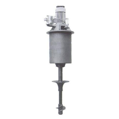 mélangeur à turbine / batch / liquide / solide / vertical