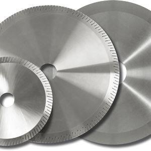 lame de scie circulaire / de tronçonnage / au diamant / pour acier