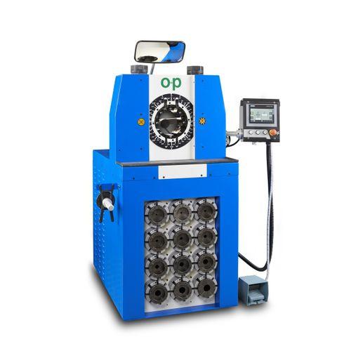 machine de sertissage de tuyau flexible
