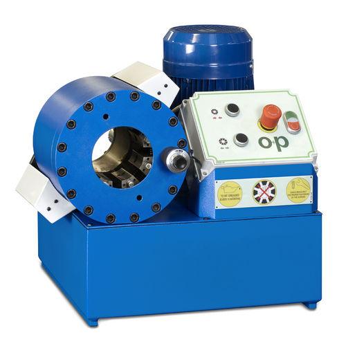 sertisseuse de tuyau flexible / pour flexible hydraulique / automatique / hydraulique