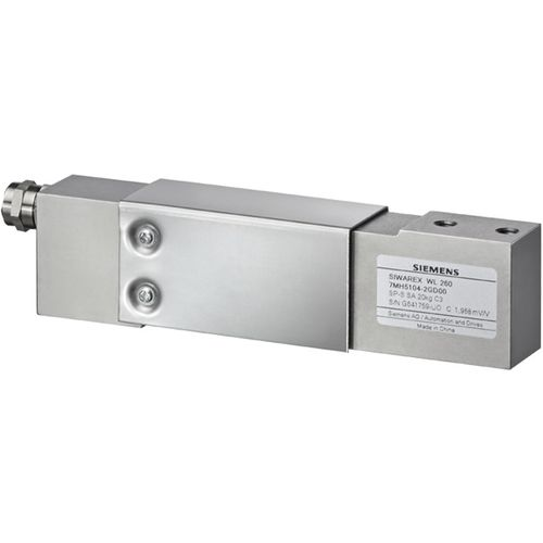 capteur de force à appui central / type poutre / en acier inoxydable / hermétique
