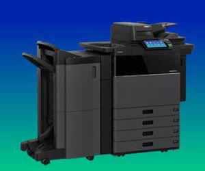 imprimante multifonction / sur pied / couleur / avec écran tactile