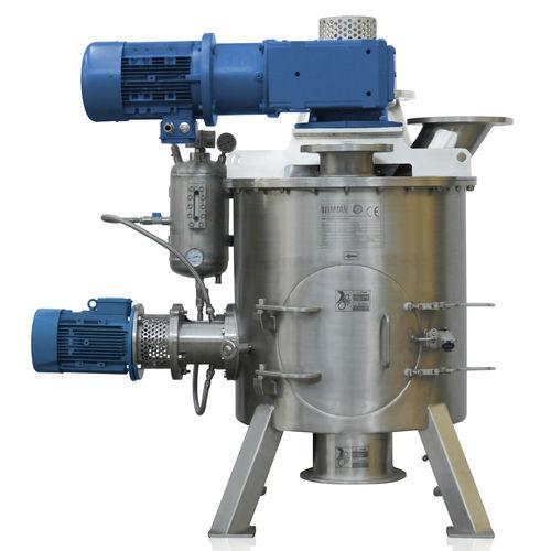 mélangeur vertical / dynamique / batch / de poudre