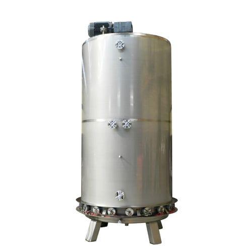 mélangeur pour liquides de moyenne viscosité / à rotor / batch / de liquide