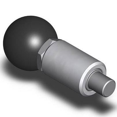 doigt d'indexage en acier inoxydable