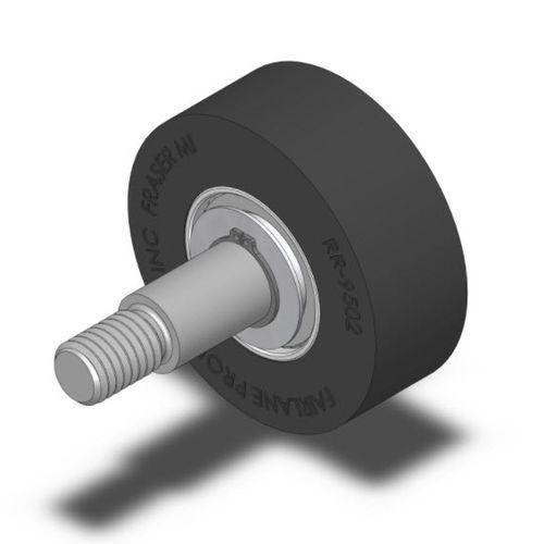 galet de guidage / en acier / en néoprène / à roulement à billes