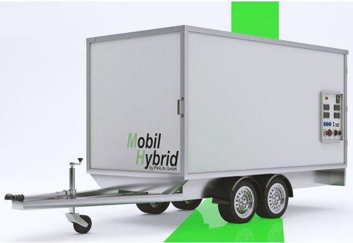 groupe électrogène triphasé / au biogaz / GPL / hybride
