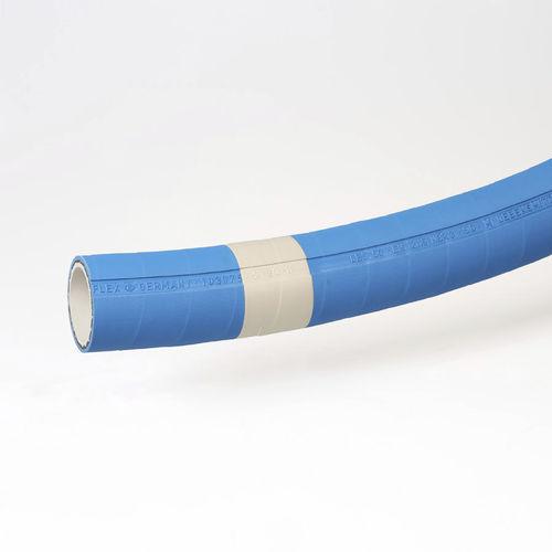 tuyau flexible pour produits alimentaires / pour graisse / en caoutchouc