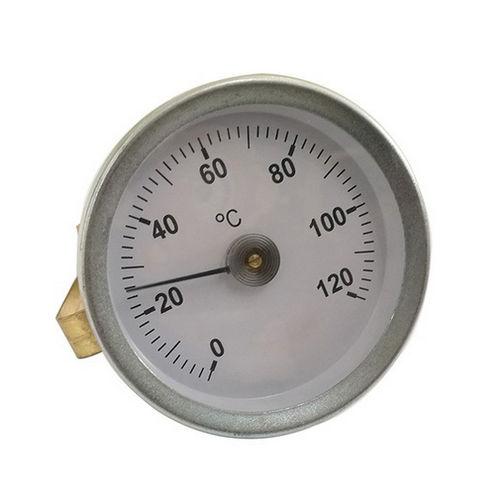 thermomètre pour mesure de température de surface / bimétallique / à aiguille / pour montage en surface