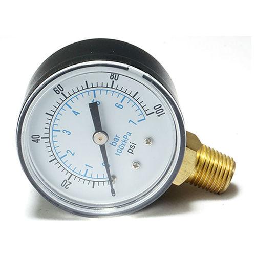 manomètre à cadran / à tube de Bourdon / pour huile / pour applications marines