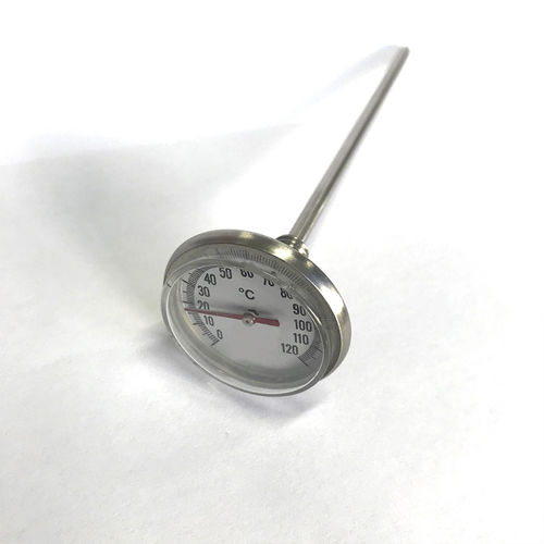 thermomètre à sonde / bimétallique / à lecture directe / portable