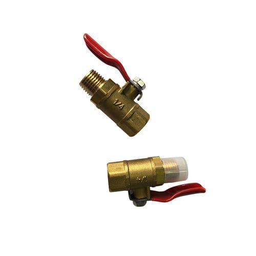 vanne à boisseau sphérique / manuelle / de contrôle / pour eau industrielle