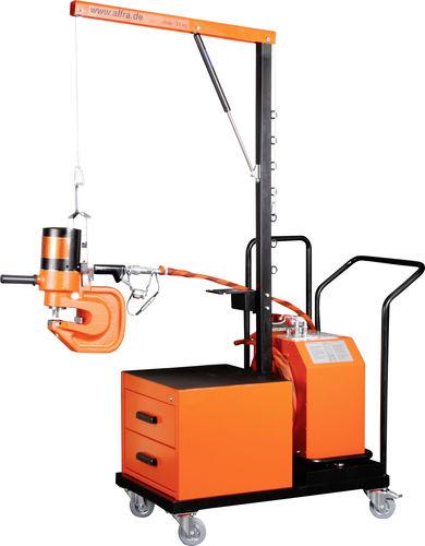 centre de poinçonnage manuel / hydraulique / pour tôle métallique