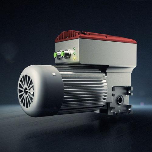 moto-réducteur électrique orthogonal / à vis sans fin / à arbre creux / à variateur intégré