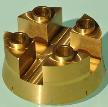 usinage aluminium / acier / titane / laiton