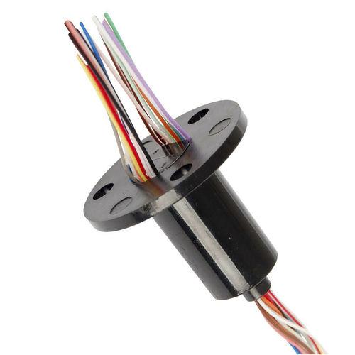 collecteur tournant à capsule / via Ethernet / USB / pour bus CAN