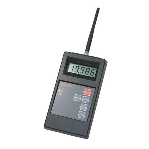 indicateur de poids / LCD / portable / RS-232