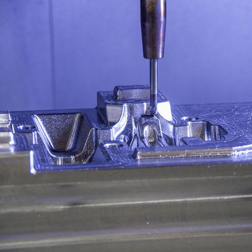 usinage fraisage aluminium / acier / acier inoxydable / nickel