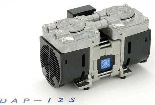 pompe à vide à membrane / sèche / mono-étagée