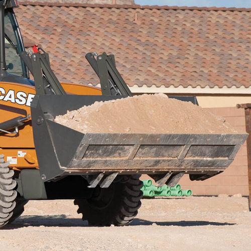 godet standard / pour chargeuse pelleteuse / pour tracteur / pour travau intensif