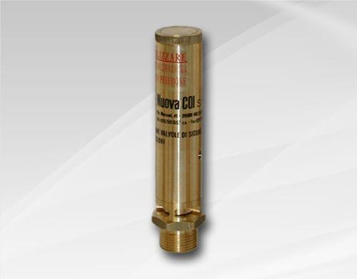 soupape de sécurité pour gaz / pour air / pour vapeur / basse pression