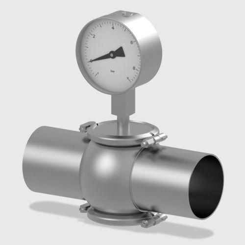 manomètre analogique / à tube de Bourdon / de process