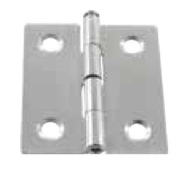 charnière en acier inoxydable / d'angle / à visser / de porte