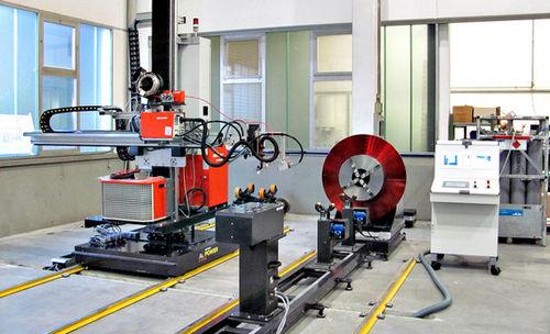 machine de soudage plasma / TIG / automatique / pour tuyaux