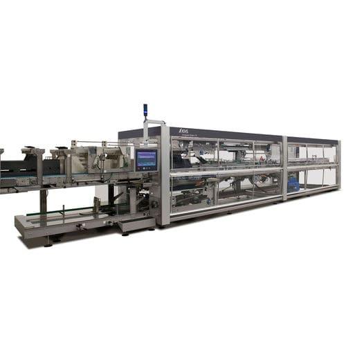 embarquetteuse horizontale / automatique / de boisson / pour produits alimentaires